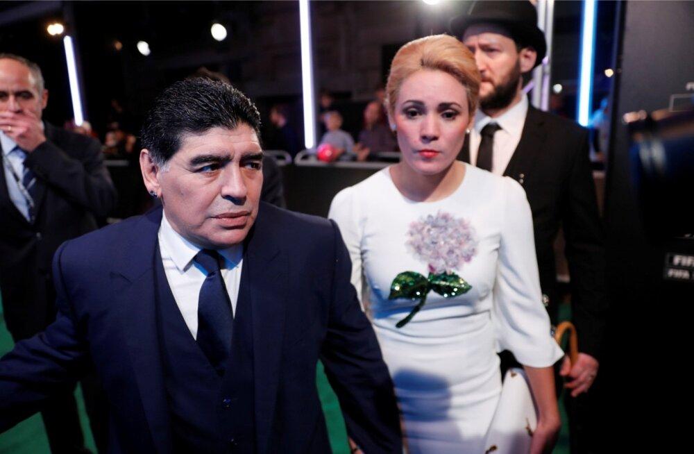 Diego Maradona ja Rocio Oliva