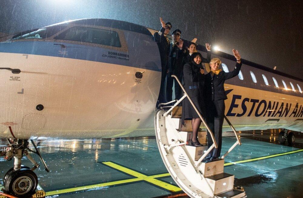 Kui uus lennufirma pilootide ja pardateenindajate tingimustele vastu ei tule, lehvitavad nad varsti Eesti tööandjale juba jäädavalt. Estonian Airi viimane lend saabus Tallinna lennujaama 7. novembril (fotol).