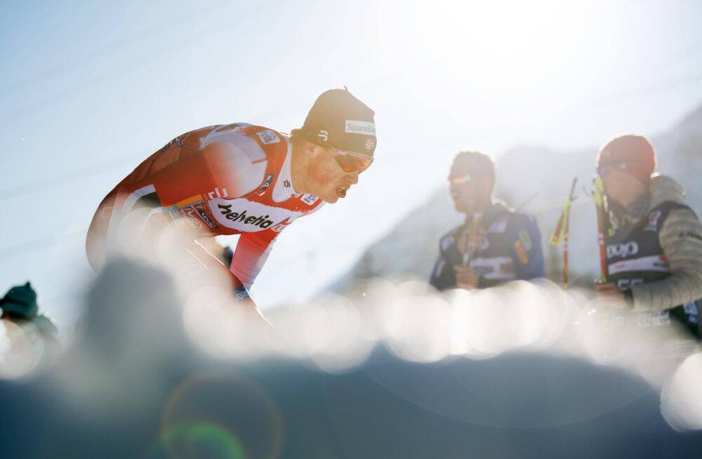 Tour de Ski: võimsa lõpu teinud Kläbo edestas napilt venelasi