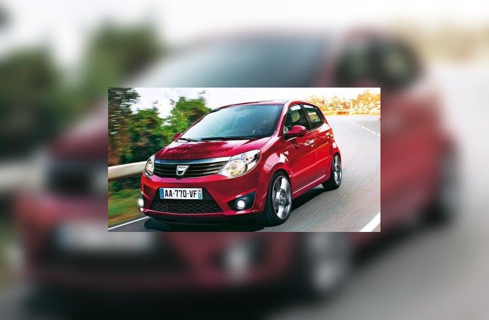 Lääne-Euroopas ollakse kõige rohkem rahul Daciaga