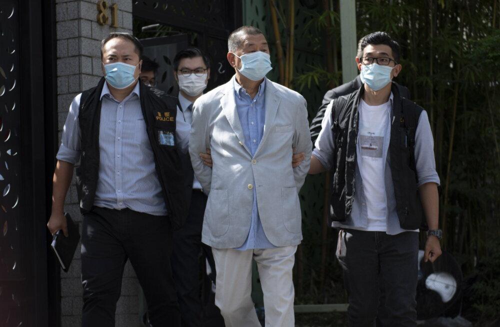 Hongkongi uue julgeolekuseaduse alusel vahistati meediamagnaat Jimmy Lai