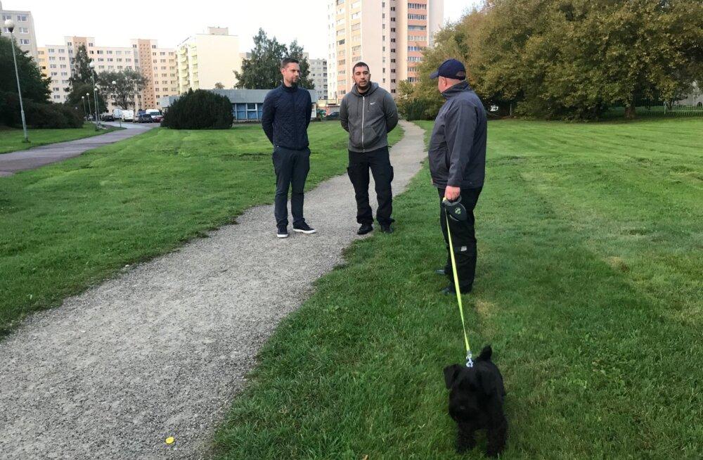 Haabersti linnaosavalitsus ja mupo kontrollisid varahommikul jalutanud koeraomanikke