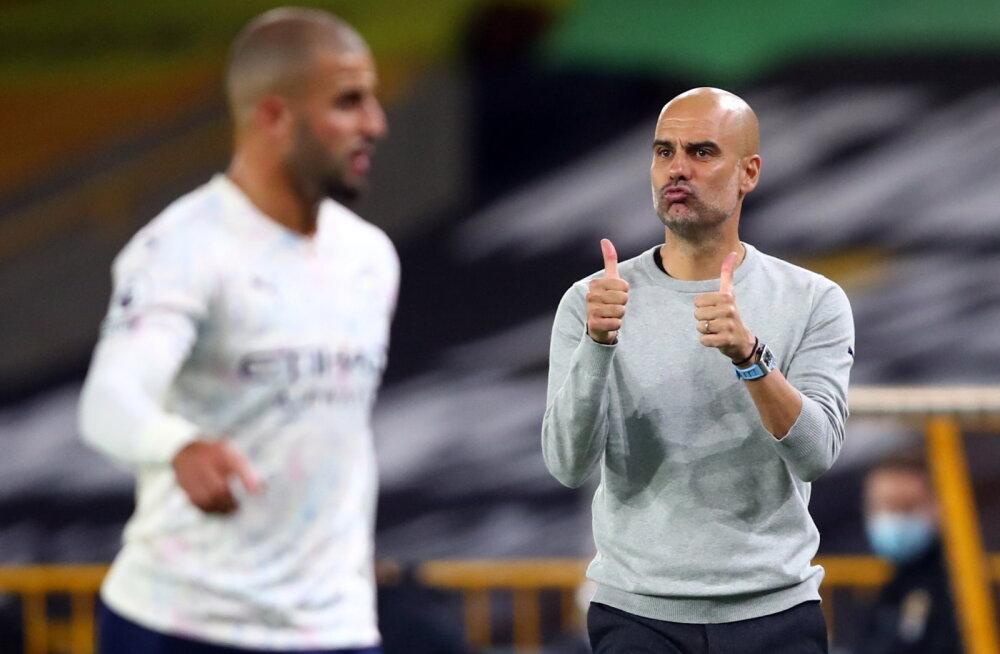 Manchester City alustas hooaega raske võiduga