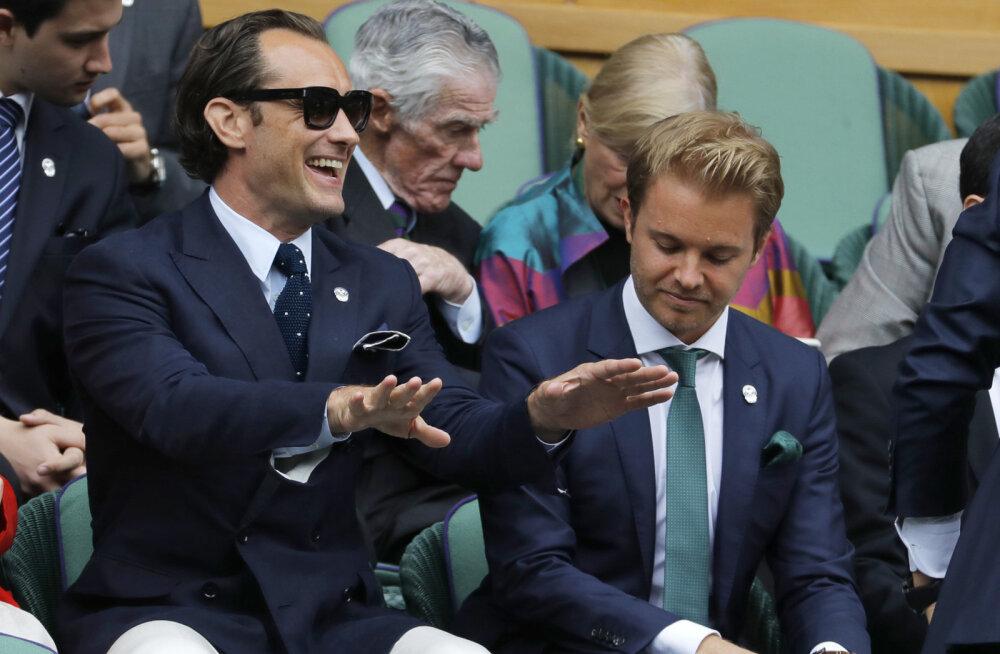 Vormel-1 maailmameistril oleks sokkide pärast Wimbledoni poolfinaal peaaegu nägemata jäänud