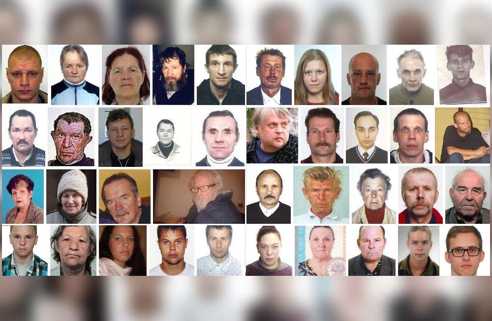 Politseile antakse aina enam teada inimestest, kes on kadunud 1990-ndatel