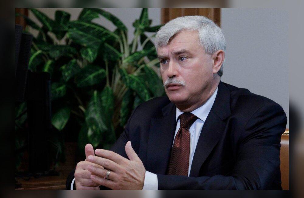 Peterburi kuberner ei teeks Soome homoseksuaalist presidendile trahvi
