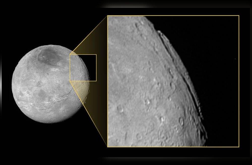 Pluuto kaaslasel haigutab kanjon, mille kõrval meie Grand Canyon polegi enam nii võimas