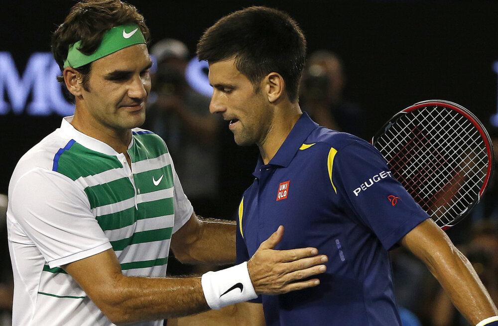 Federeril on võimalus Djoković kõigi aegade troonilt tõugata