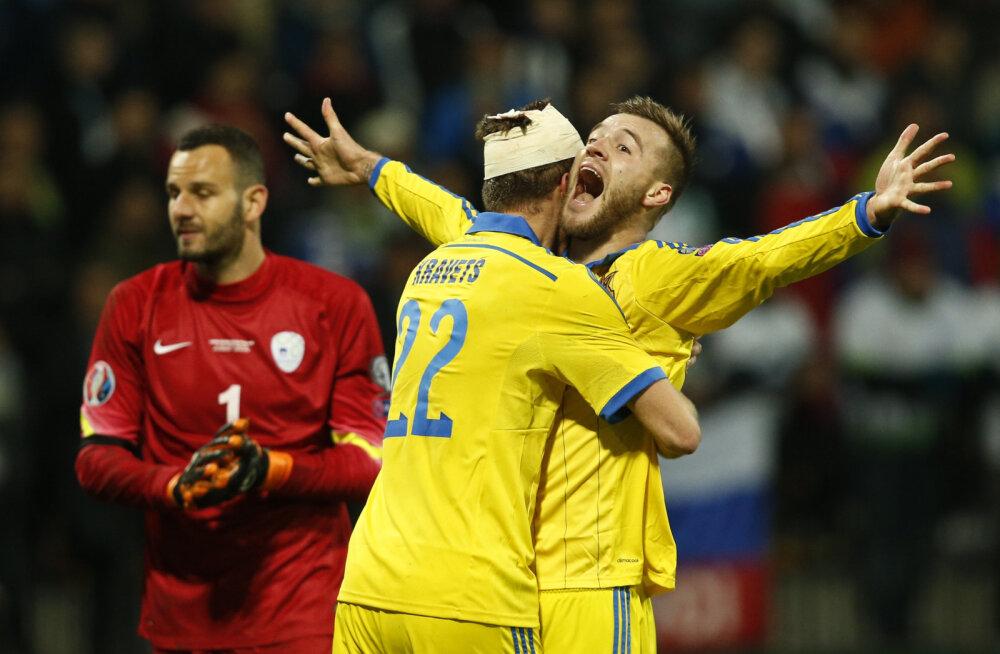 21 päeva jalgpalli EM-ini: Ukrainat rikastavad Barcelona huviorbiidis ründaja ja värske Euroopa liiga võitja