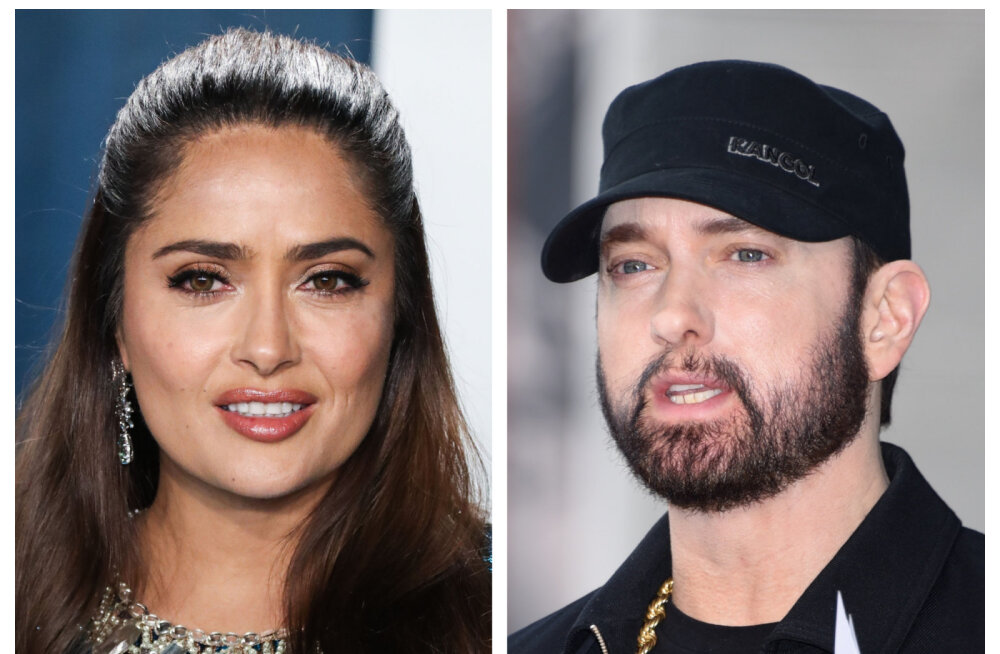 Salma Hayeki piinlik kohtumine Eminemiga: ma tegin ennast nii lolliks