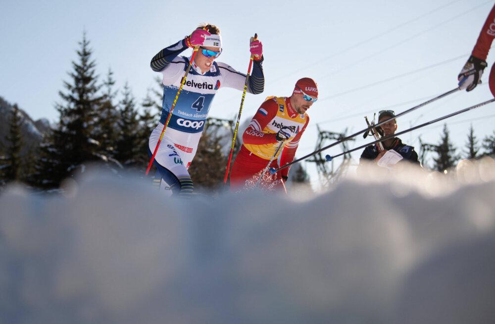 Tour de Ski: venelased näitasid võimu, Niskanen poodiumil, Kläbo jäi liidritest kaugele
