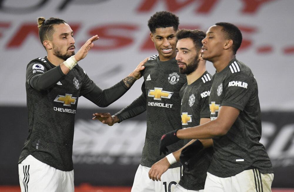 Keerulisest seisust välja tulnud Manchester United jätkas võimast seeriat