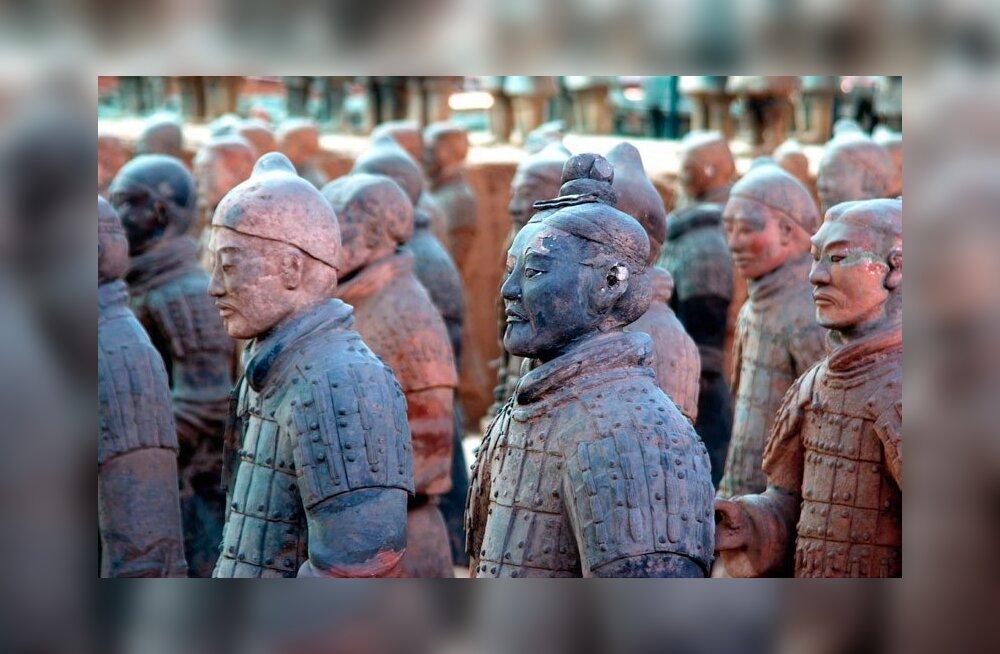 Xian - elav ajalooraamat tuhandete terrakotakujudega