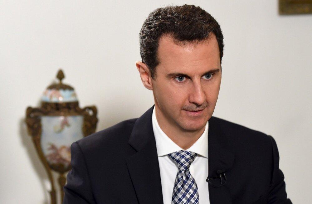 Assad lubas Süüria relvarahu püsimiseks oma osa teha ja mässulistele amnestiat