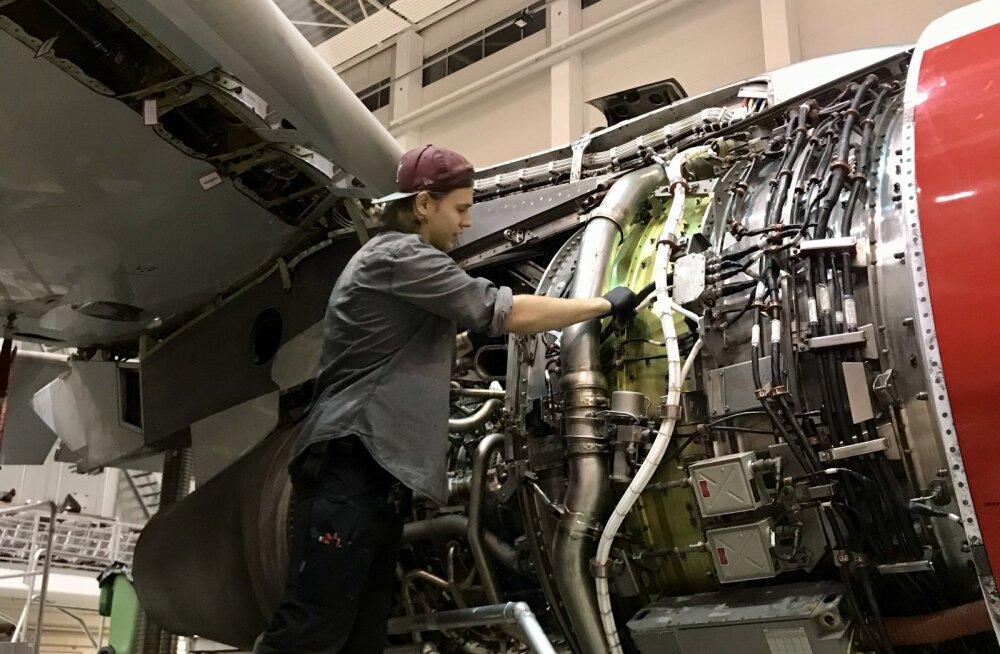 В Таллинне начали обучать авиационных механиков