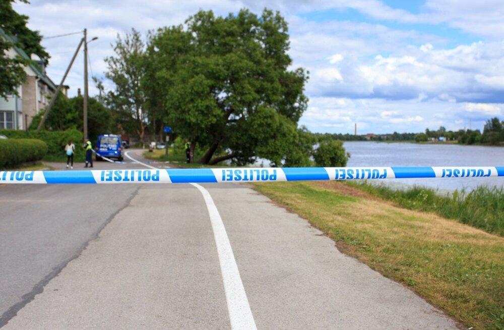 Pärnu jõest leiti uppunud naise surnukeha