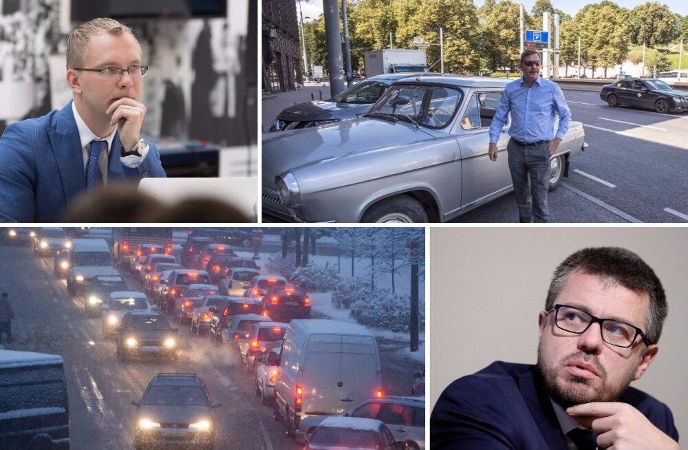 Urmas Reinsalu: statistika näitab, et Tallinnas on hullemad ummikud kui maailmalinnades Berliinis ja Madriidis