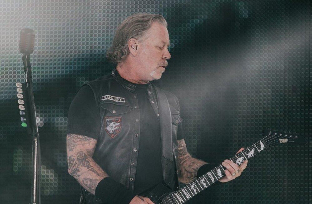 VIDEO | Kuidas välja kukkus? Metallica esines ka Moskvas kohaliku hittlooga