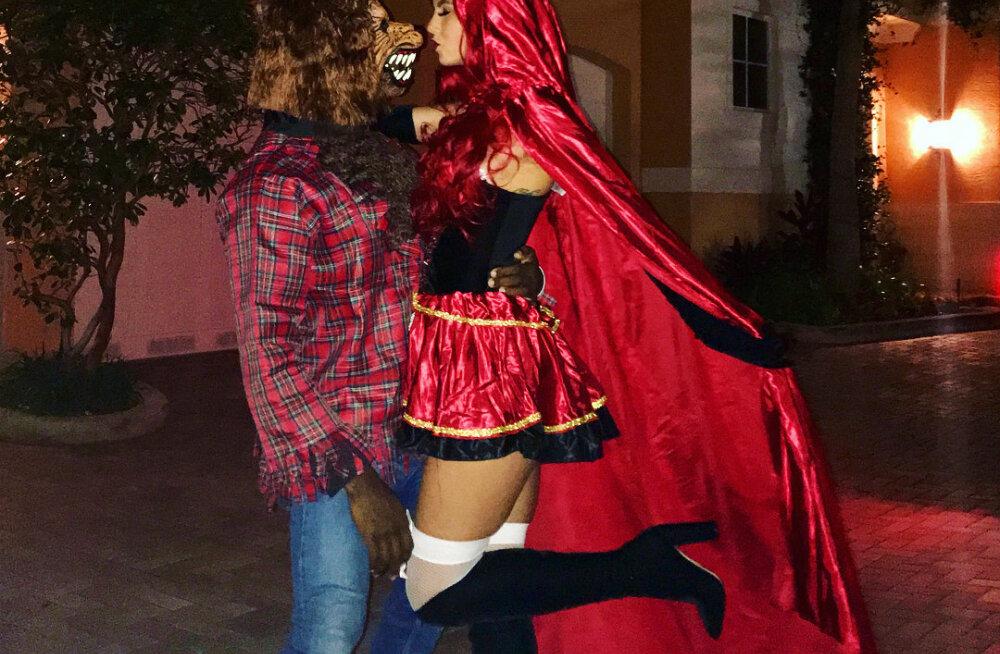 FOTOD   Zombidest seksika punamütsikeseni: Vaata, millistes uhketes kostüümides staarid Halloweeni tähistavad!