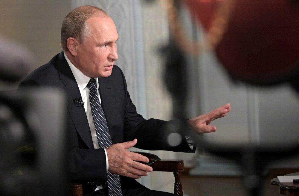 Putin Fox Newsile: meie reaktsioon Ukraina või Gruusia NATO-sse võtmisele oleks äärmiselt negatiivne