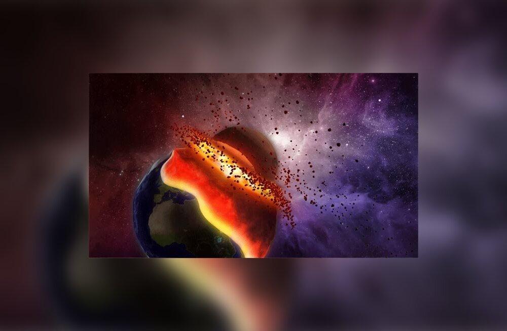 planeedid, kokkupõrge, kosmos, katastroof