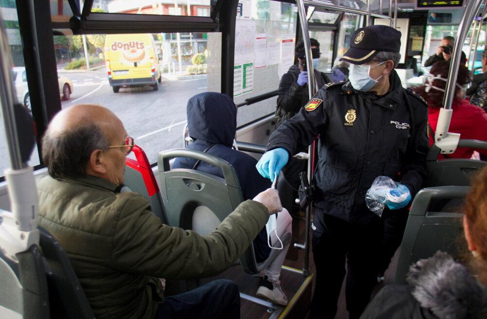Hispaania lubas tänasest mõnede sektorite töötajad taas tööle