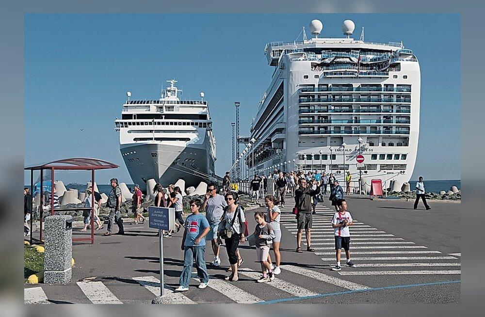 Eesti sadamate kauba- ja reisijatevedu mullu suurenes