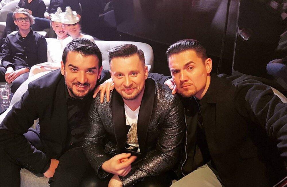 FOTO | Eesti Laulu poolfinaalis said ootamatult kokku kunagise poistebändi Soul Milita kuumad kompud