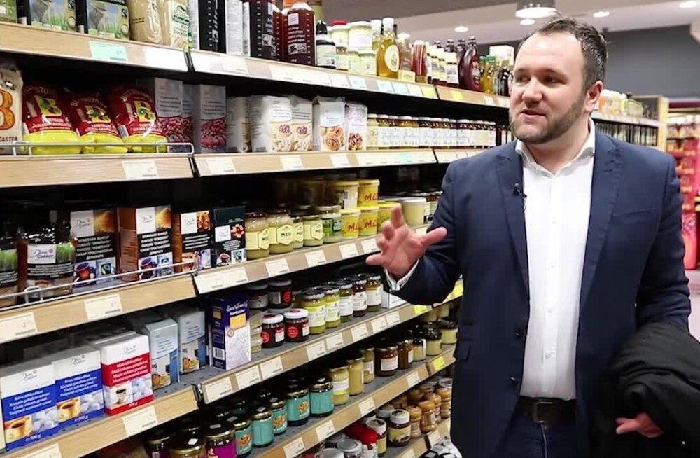 ВИДЕО: Британец в таллиннском продуктовом магазине: почему здесь все так дорого?
