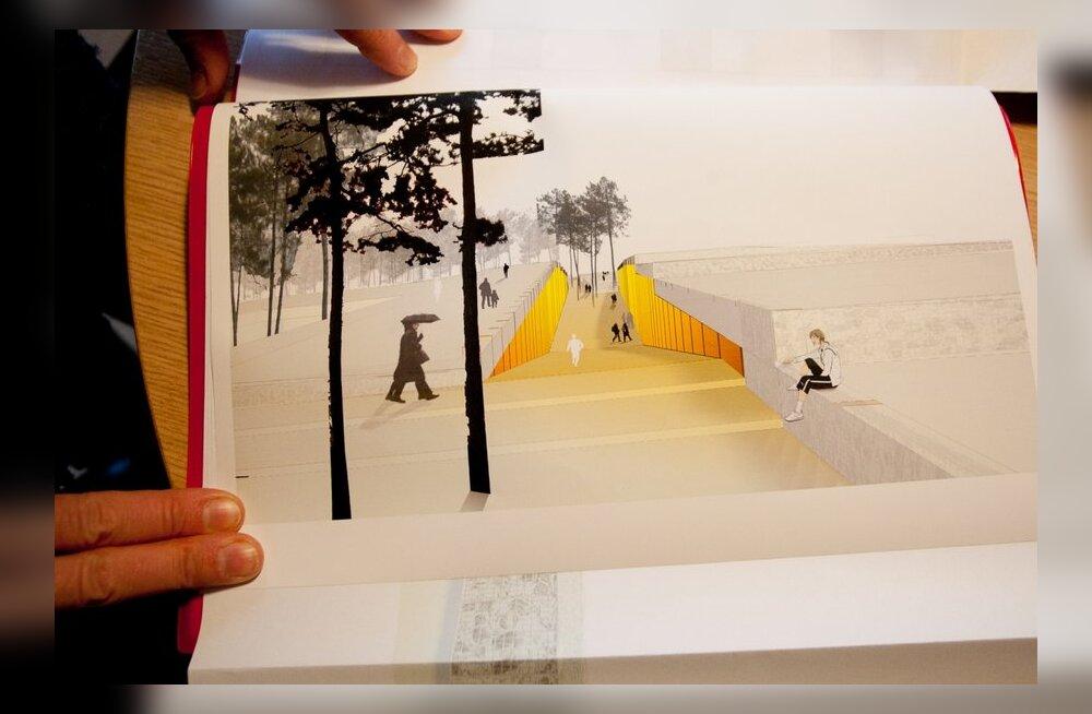Vabaõhumuuseumi uue peahoone projekt