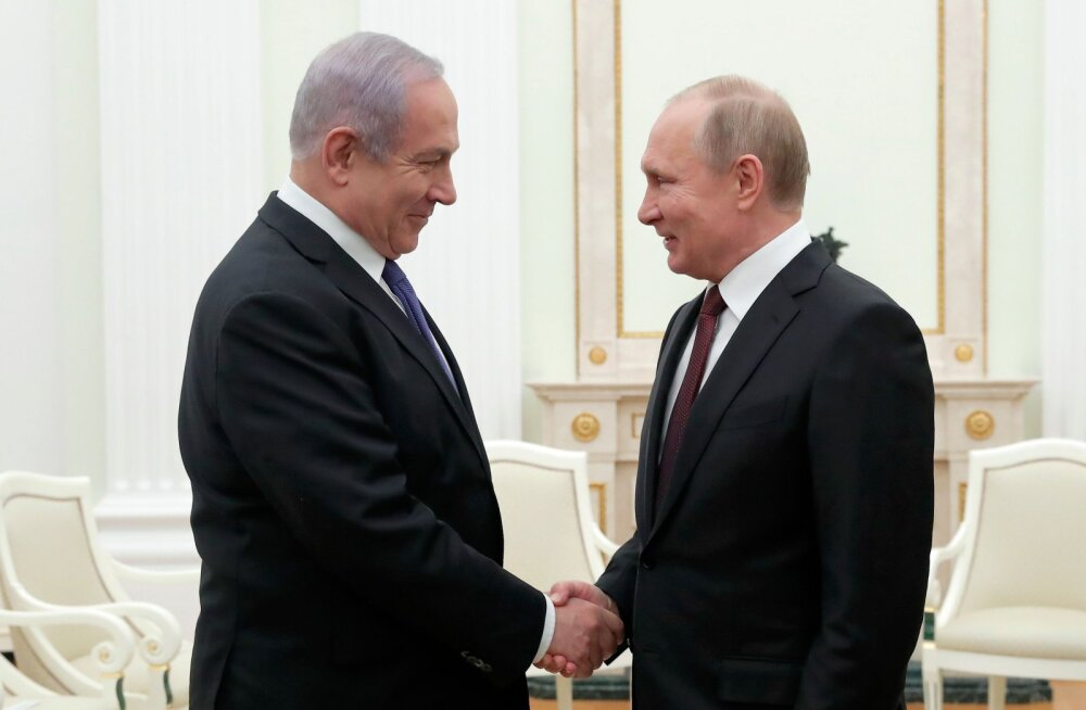 Netanyahu: otsekontakt Putiniga hoidis ära Iisraeli ja Venemaa kokkupõrke Süürias