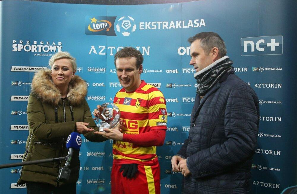 Konstantin Vassiljev saab kuu mängija tiitli