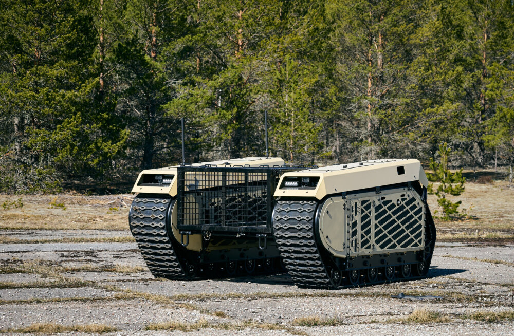 Eesti esimene robotsõdur: Milremi lahingrobot läheb eestlastega Malisse rahu valvama