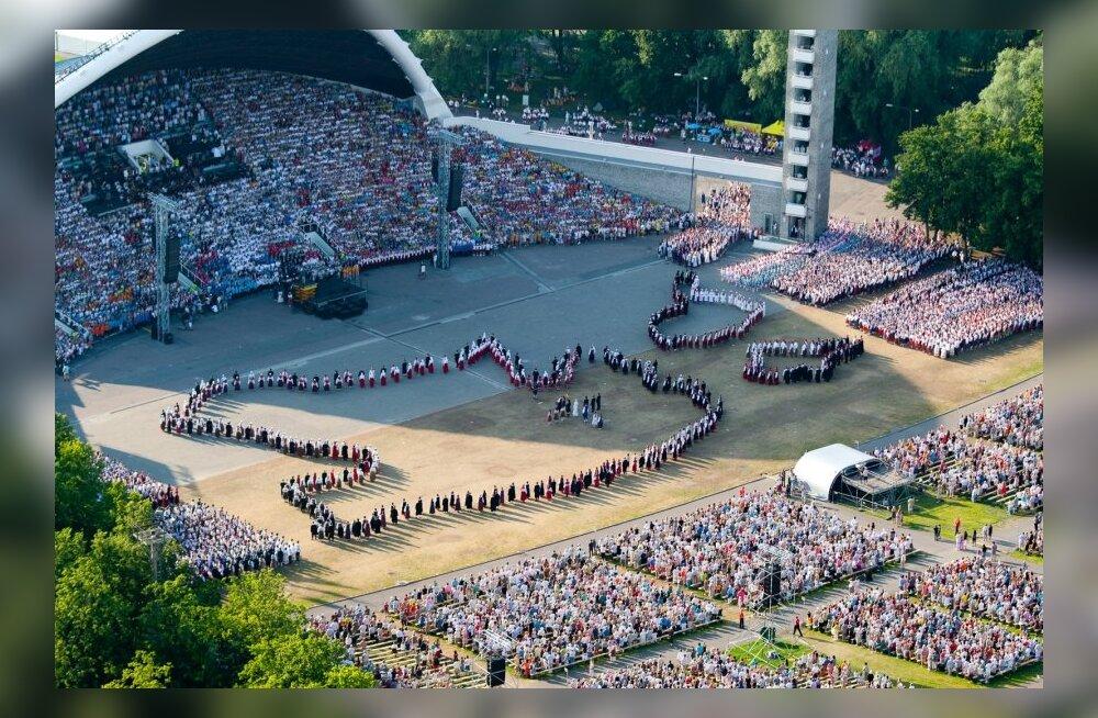 Laulupidu 2011 aerofotod