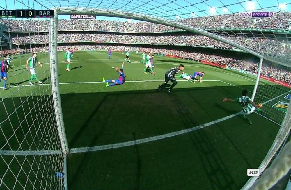Real Betisi värav