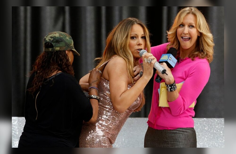 Mariah Carey kleit vupsas lahti
