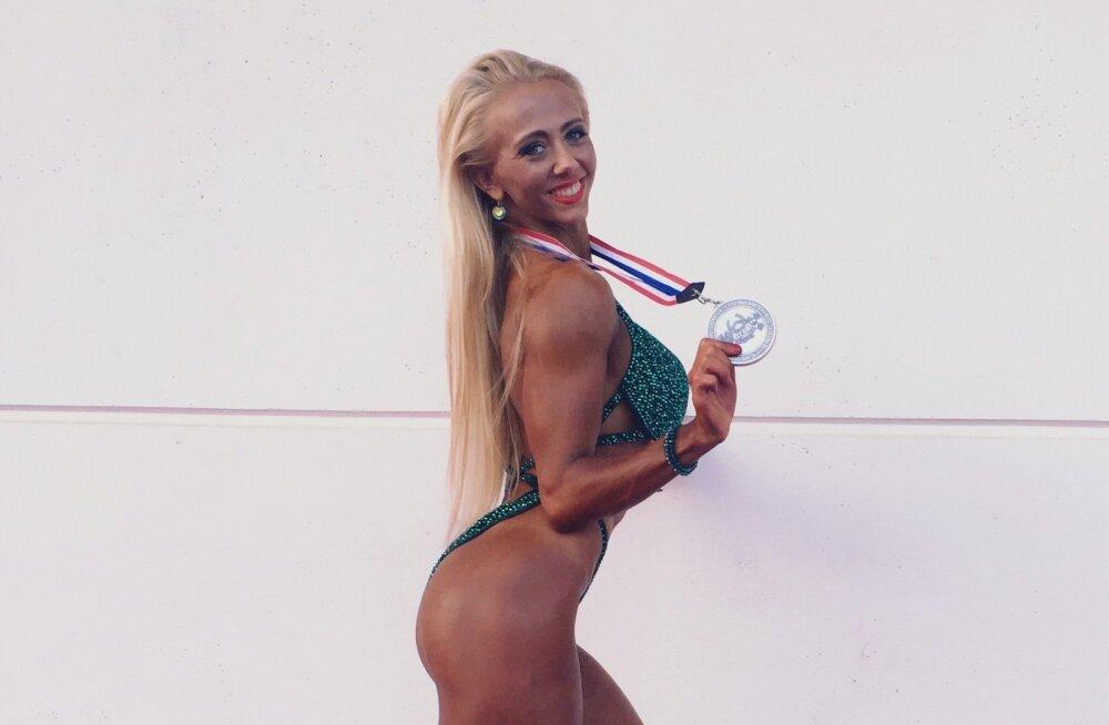 Eesti fitness-sportlased võitsid Arnold Schwarzeneggeri silme all medaleid