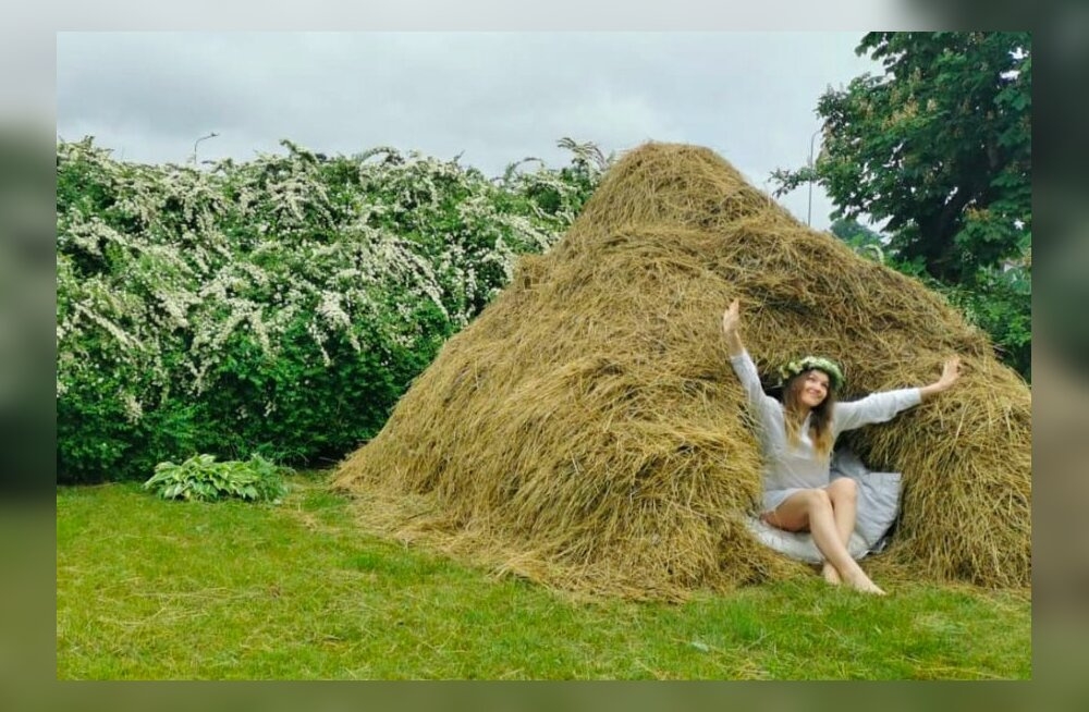 ФОТО   Ночь в стоге сена — необычная гостиница под Ригой
