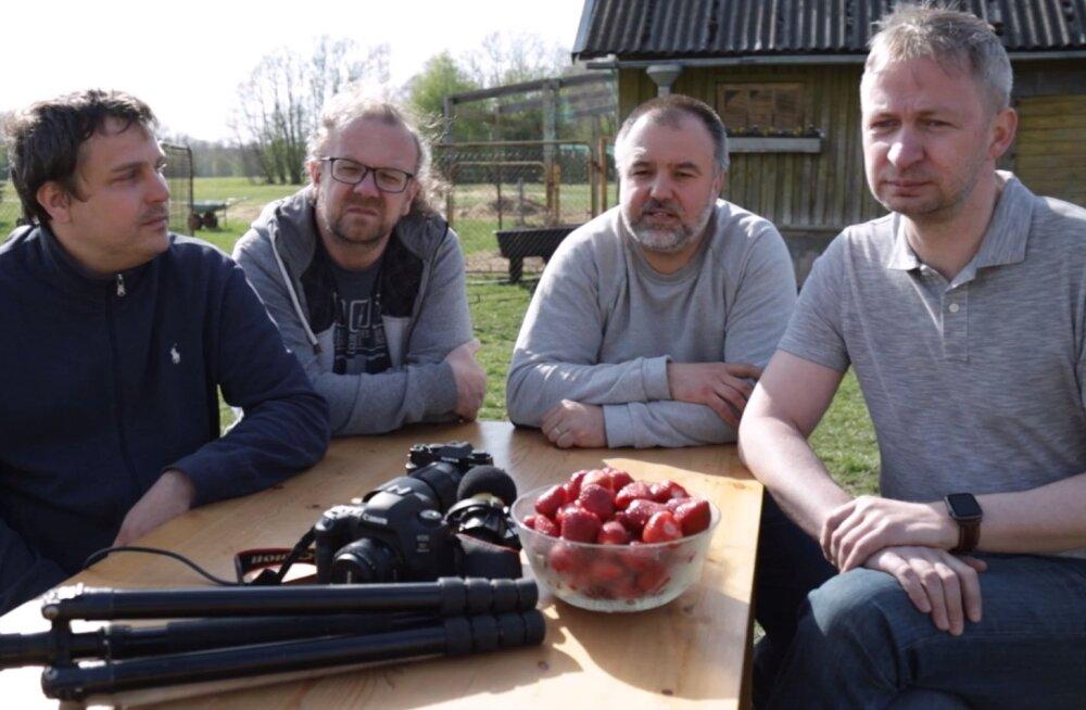 Fotograafid Peep Sooman, Jan Lepamaa, Janek Laanemäe ja Priit Tammjärv