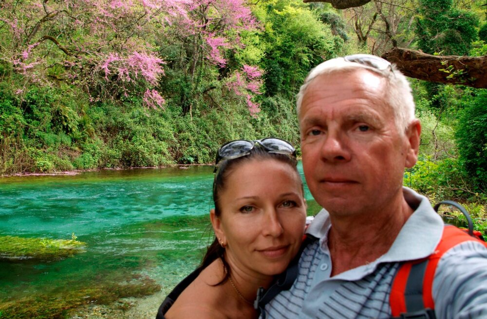 EESTIS ABIELLU! Meditsiiniõest ukrainlanna Marinaga tutvus Mihkel Tiks kaheksa aastat tagasi. Eestis kavatsevad nad oma liidu abieluks sõlmida.