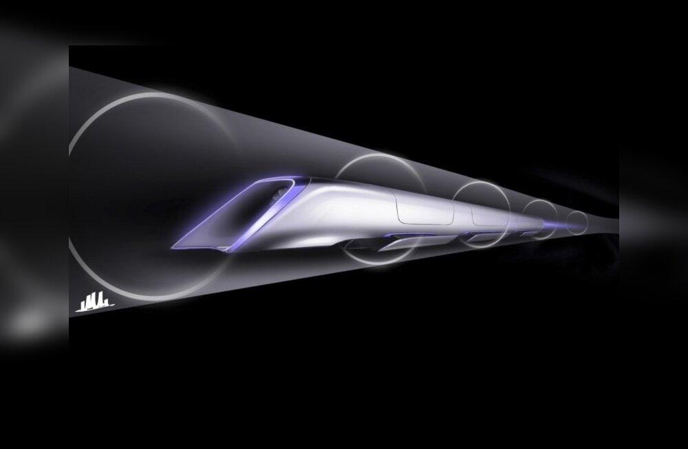 Salapärane Hyperloop avalikkuse ees – loe, kuidas Elon Muski tuleviku-kiirrong toimib
