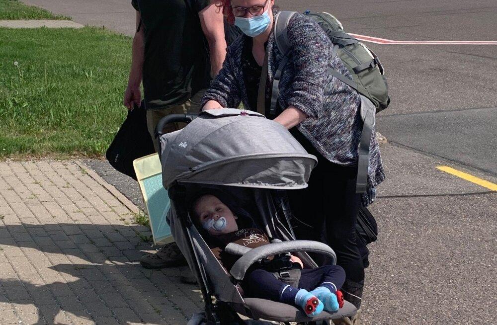 Annetajatelt abi saanud haruldase immuunpuudulikkusega väike Mattias jõudis tagasi Eestisse