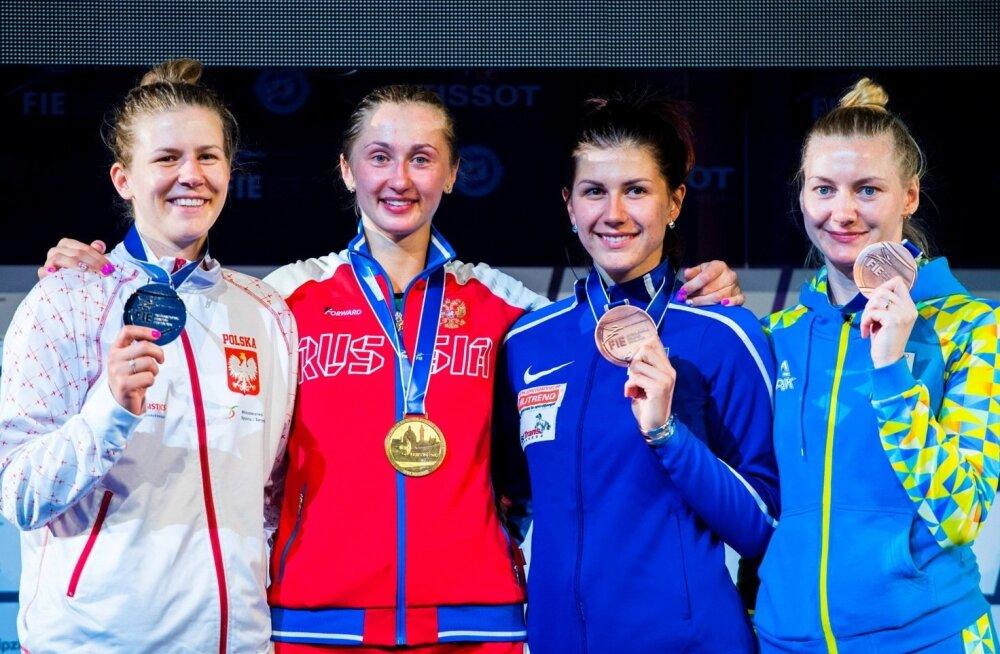 Julia Beljajeva võitis MMil pronksmedali