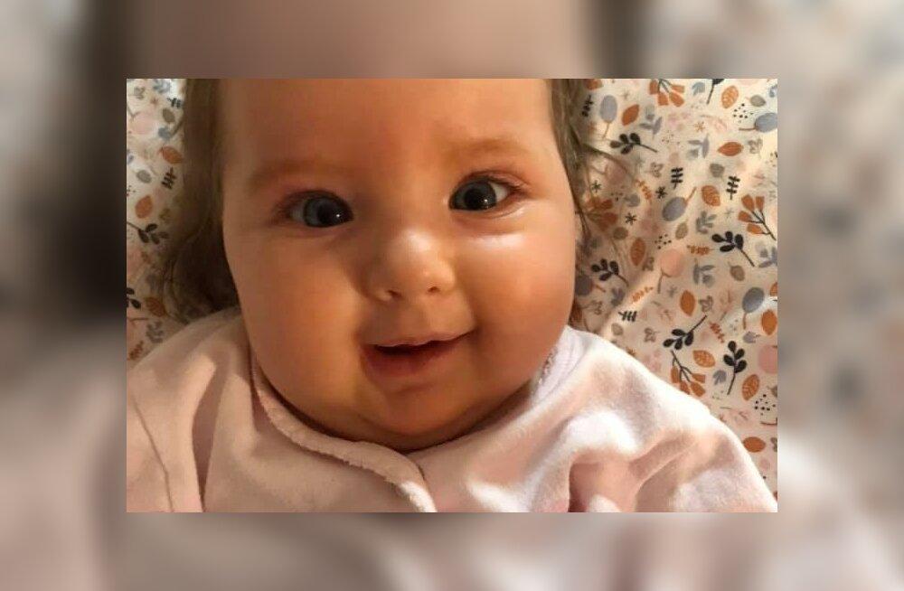Pisike Annabel sai täna 7-kuuseks! Tüdrukutirtsu vanemad: me ei unusta kunagi, et Annabeli ravi sai teostatud vaid tänu teile, armsad toetajad