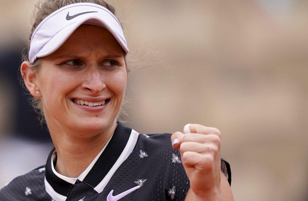 French Openi finaali pääsenud 19-aastane tšehhitar: elu parim nädal!