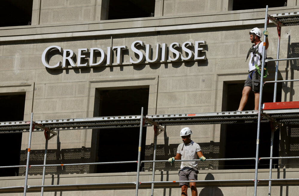 Šveitsi suurpank USA teenistuses. Viis miljardit dollarit vene raha on külmutatud