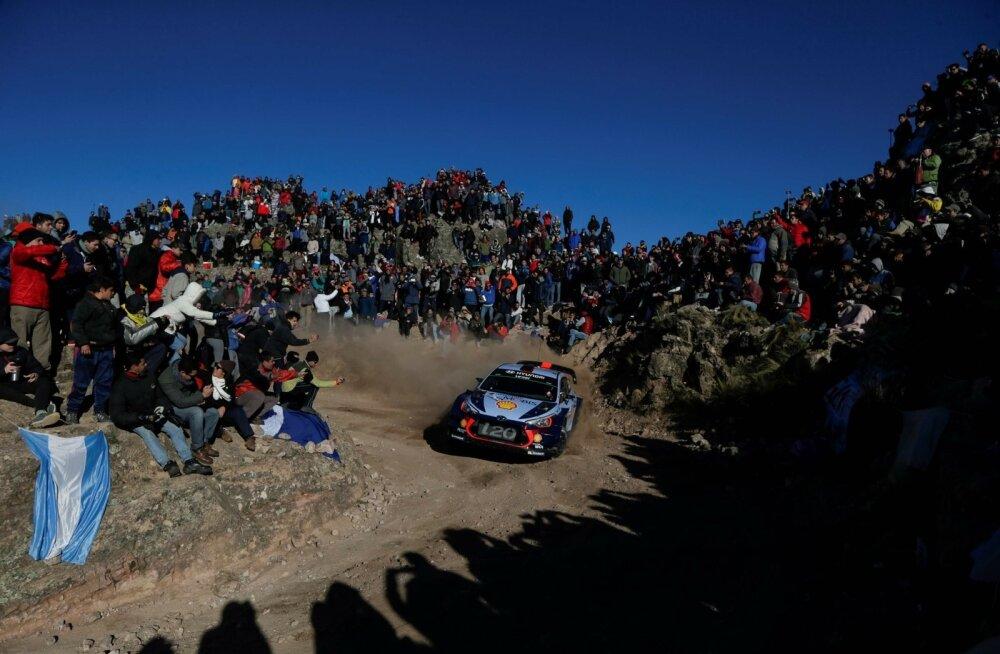 Praegu on WRC-sarjas üks Lõuna-Ameerikas toimuv ralli - Argentina ralli.
