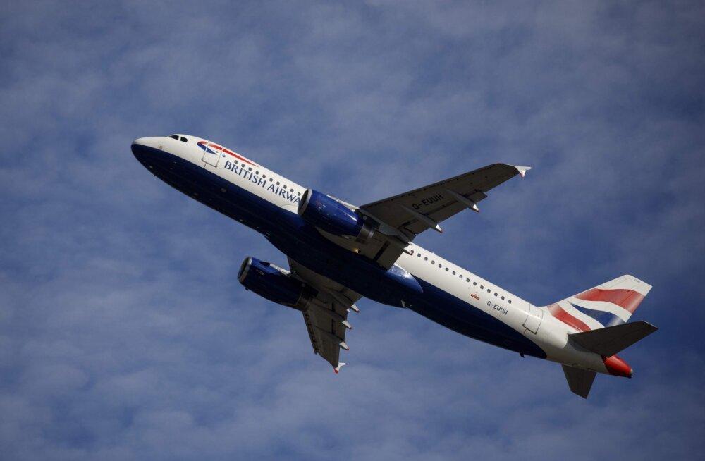 FOTO JA VIDEO | Kummaline kogemus: British Airlines'iga lennanud meesterahvas tõdes, et kõik, mis vähegi sai katki olla, seda ka oli
