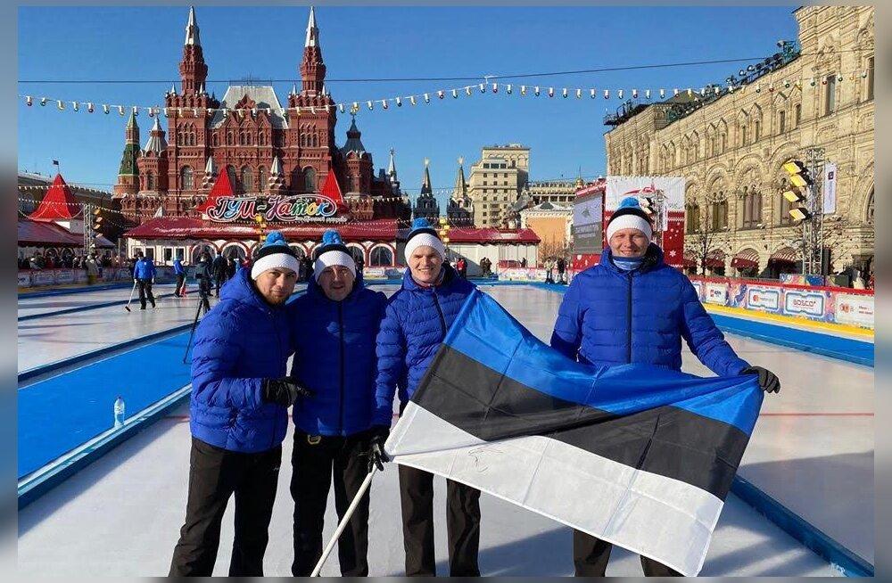 Hea töö! Eesti kurlingumeeskond teenis MK-etapil pronksi