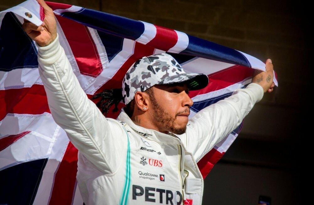 Lewis Hamilton krooniti kuuendat korda F1 sarja maailmameistriks.